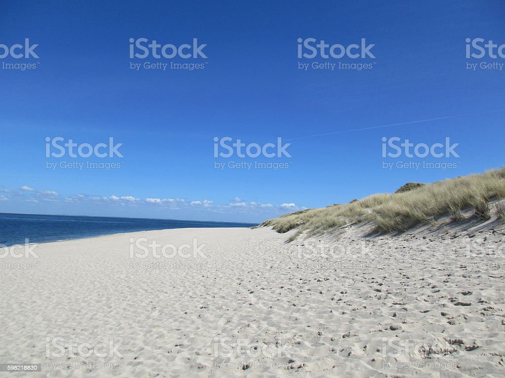 perfect beach at List on the island of Sylt foto royalty-free