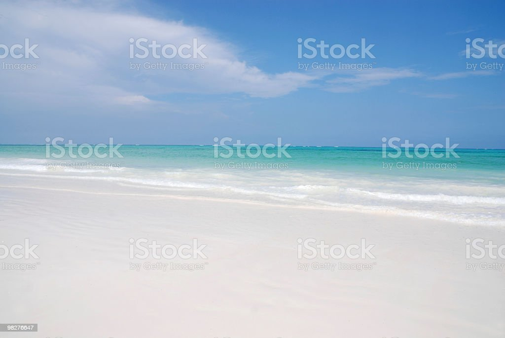 perfect beach royalty-free stock photo