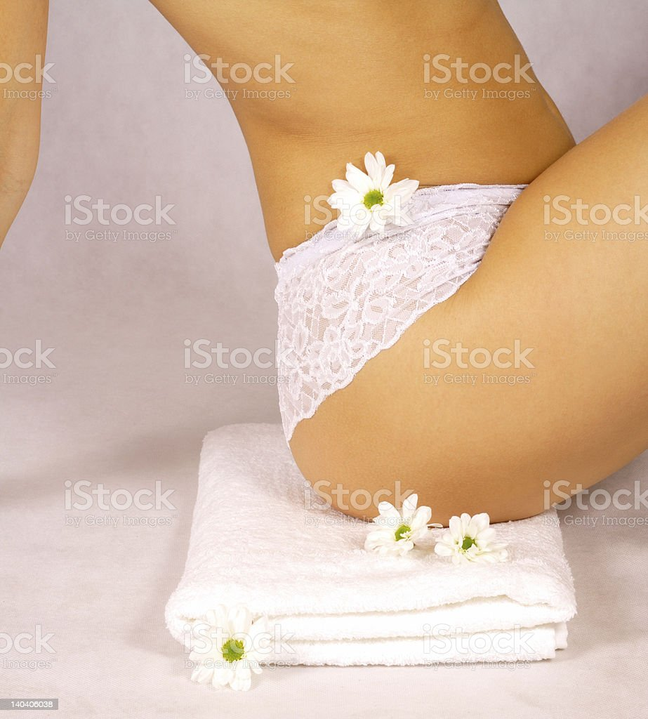 Perfect body line royalty-free stock photo