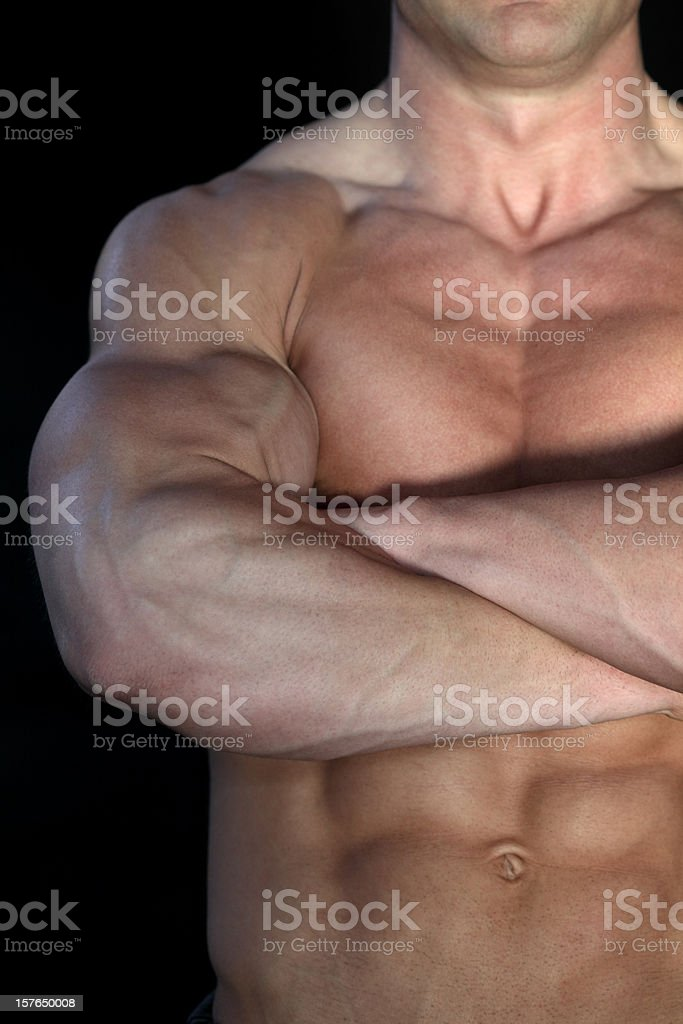 Perfect body royalty-free stock photo