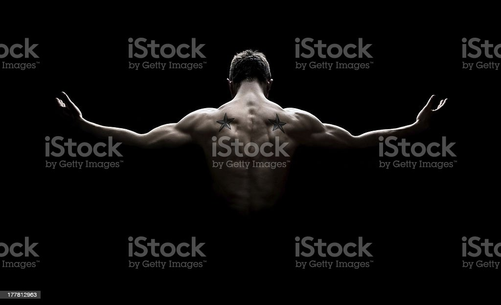 Perfect body stock photo