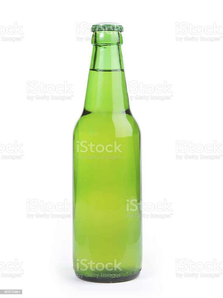 perfect bottle of beer royalty-free stock photo