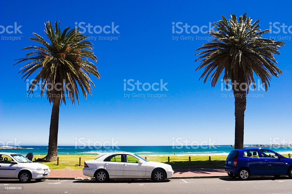 Perfect boulevard royalty-free stock photo