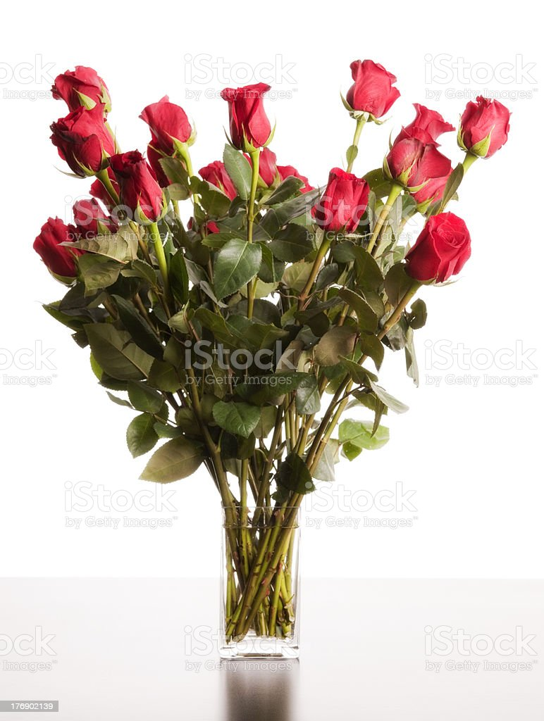 Perfect Bouquet of Roses stock photo