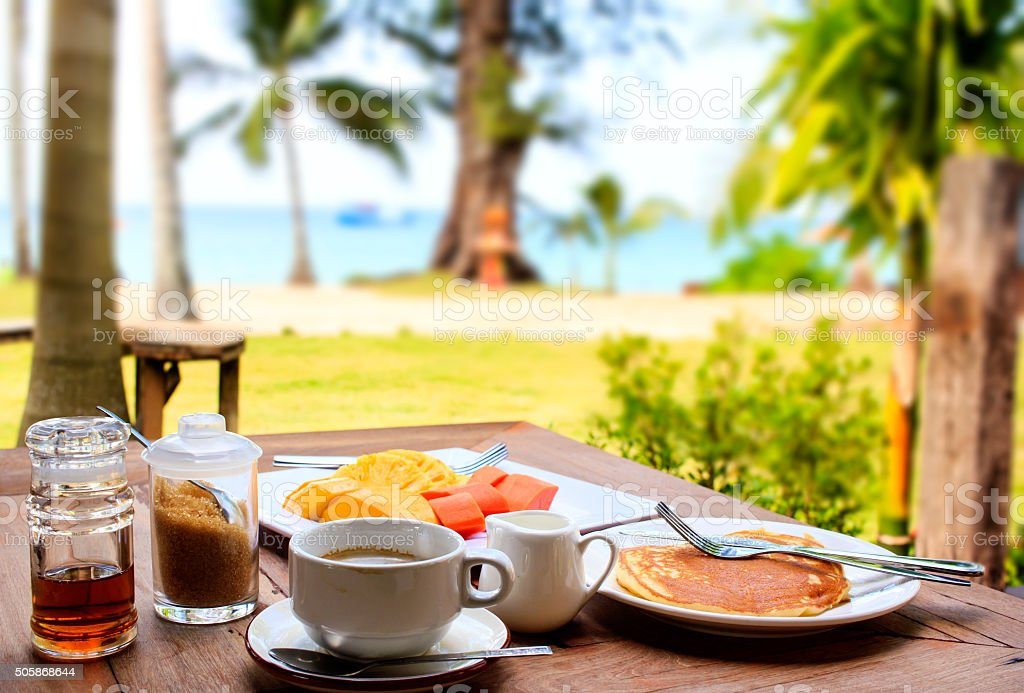 Perfect breakfast stock photo