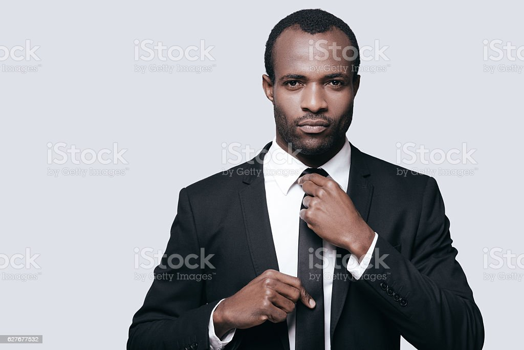Perfect businessman. stock photo