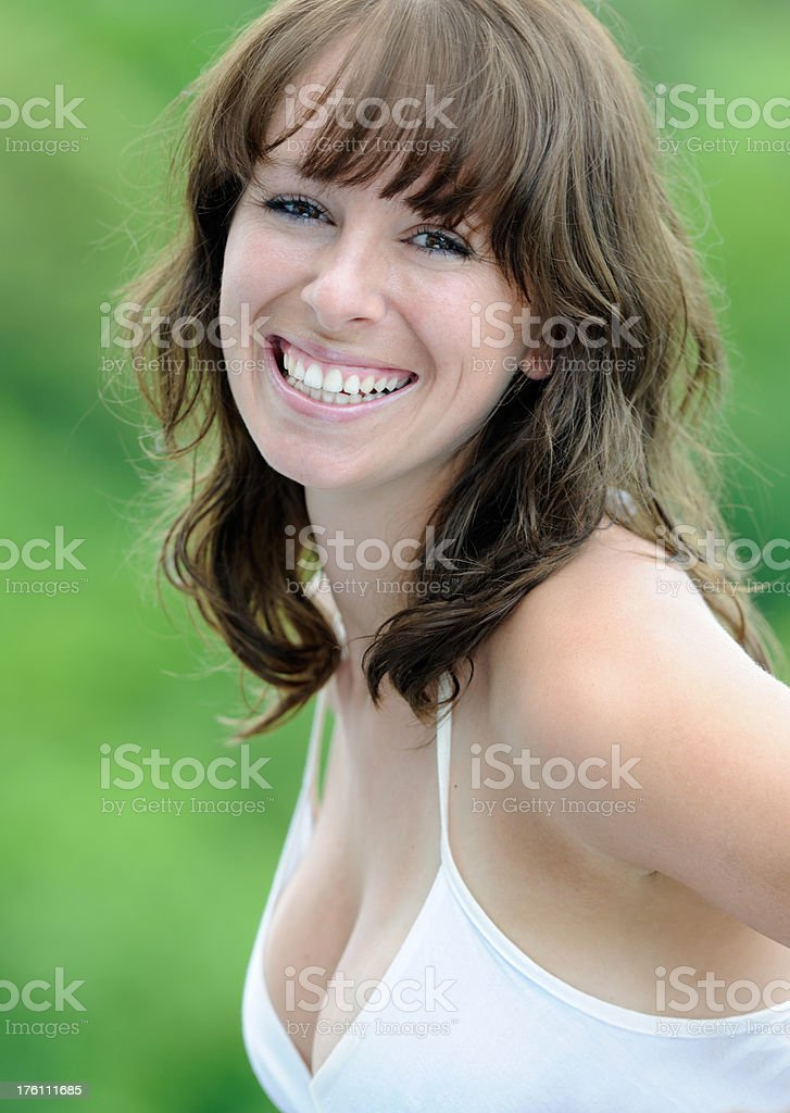 Perfekte Offenes Lächeln (XXXL – Foto