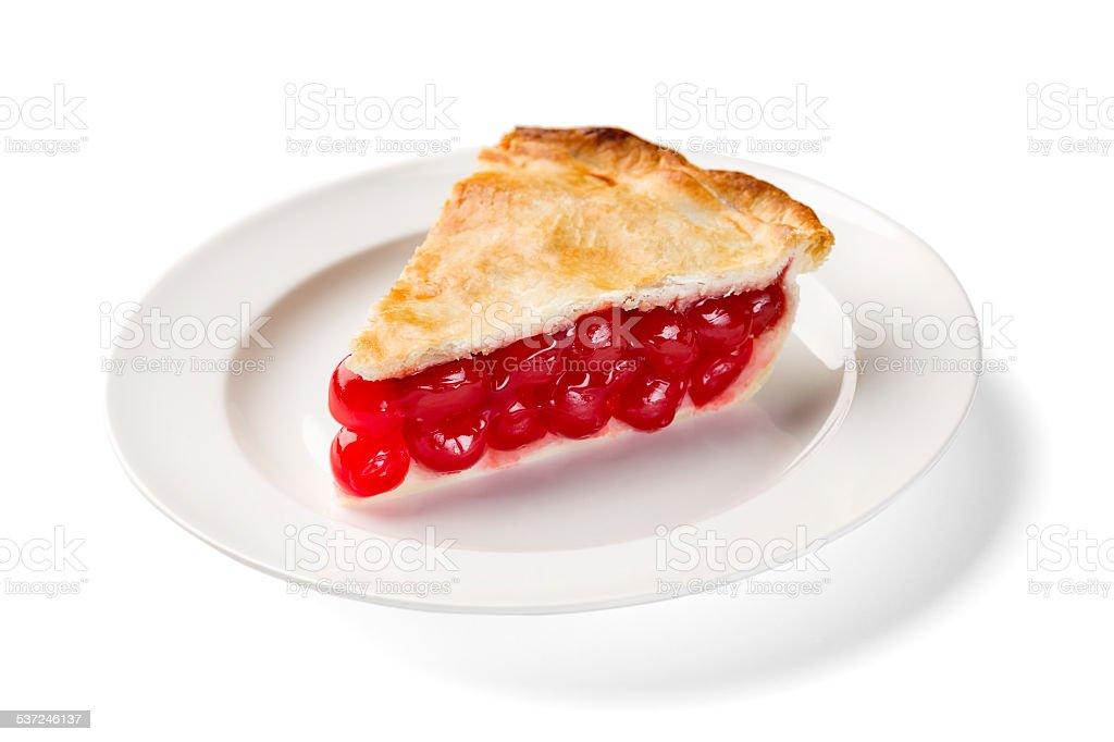 Perfect Cherry Pie stock photo