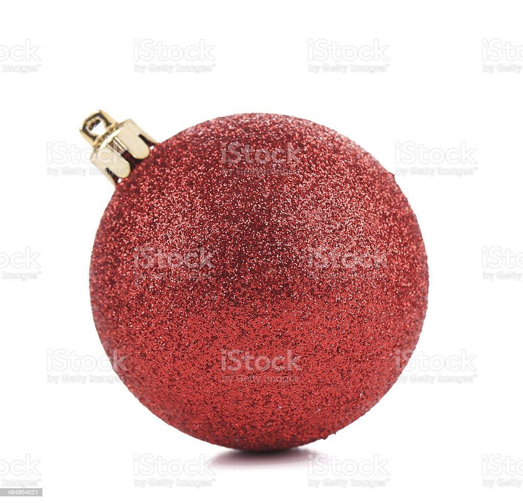 Perfect christmas ball. stock photo