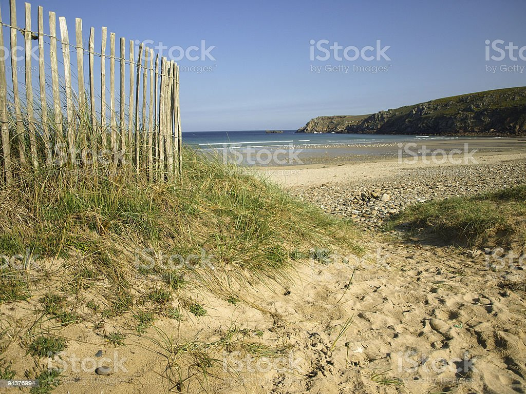 perfect day at the beach royalty-free stock photo