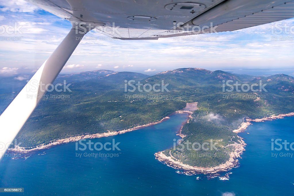 Perfect day for flying! stock photo