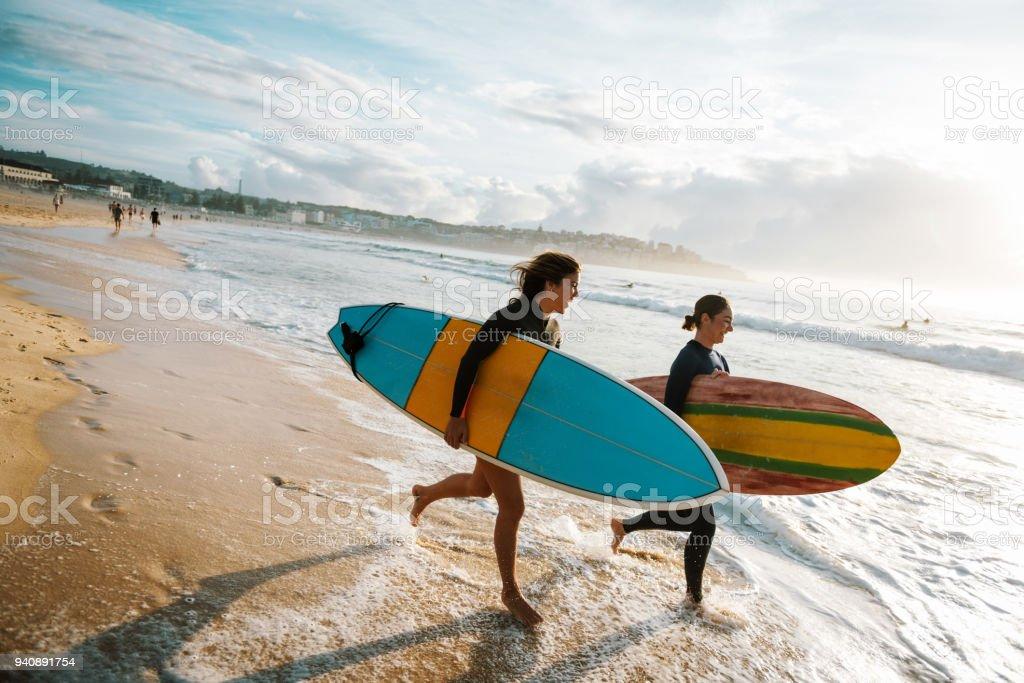 Perfekter Tag zum Surfen – Foto