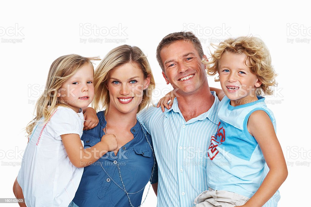 Perfect family royalty-free stock photo