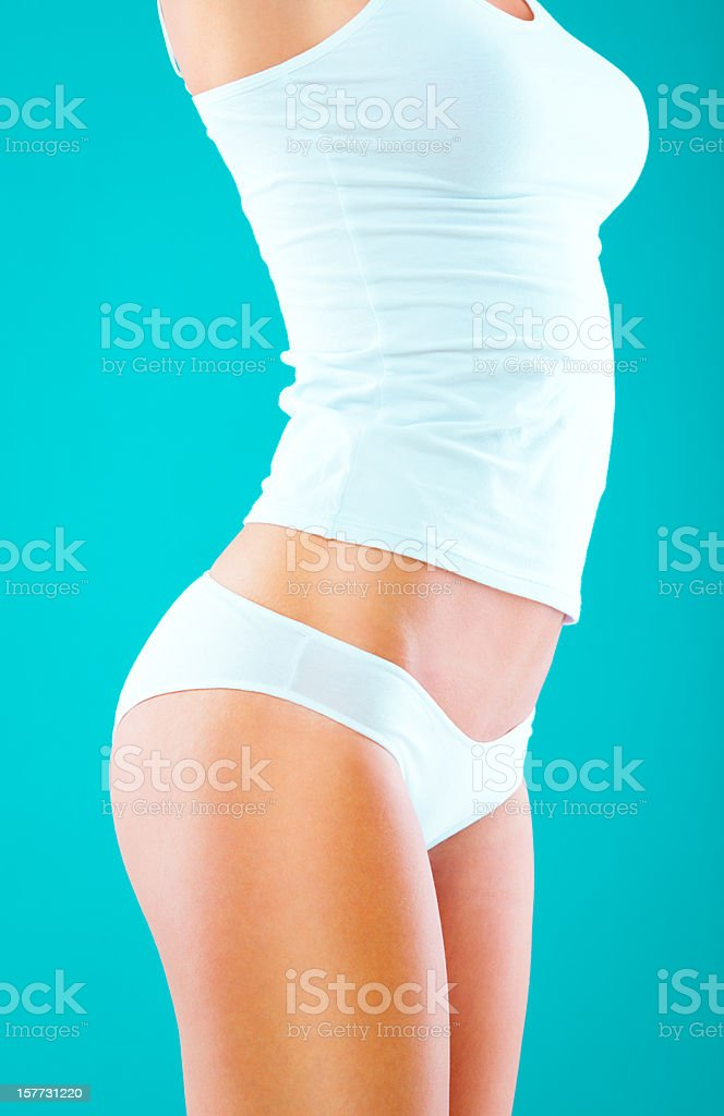 Perfect female body royalty-free stock photo