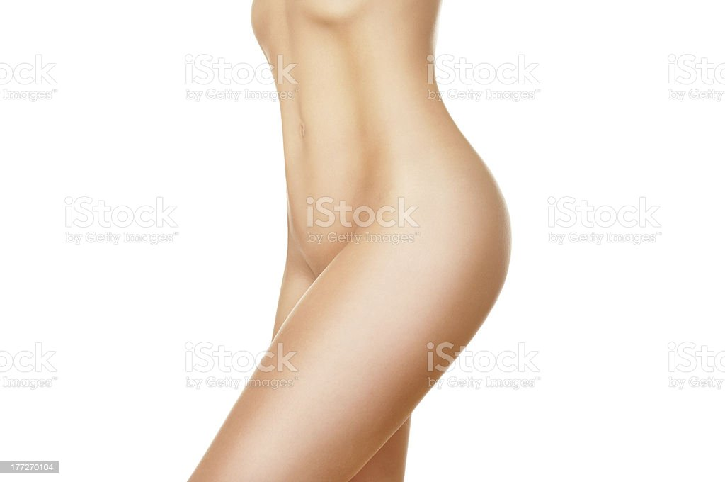 Perfect female body stock photo
