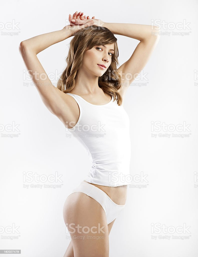 Perfect  Female Body stock photo