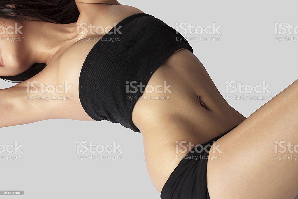 Cuerpo femenino perfecto - foto de stock