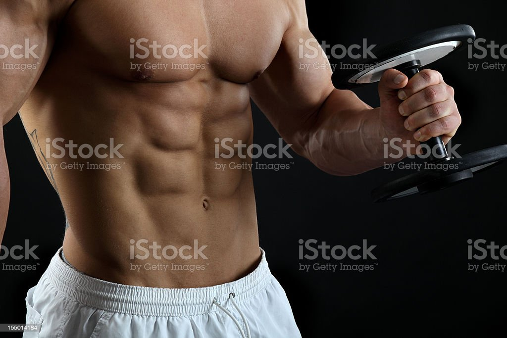Perfect fitness royalty-free stock photo
