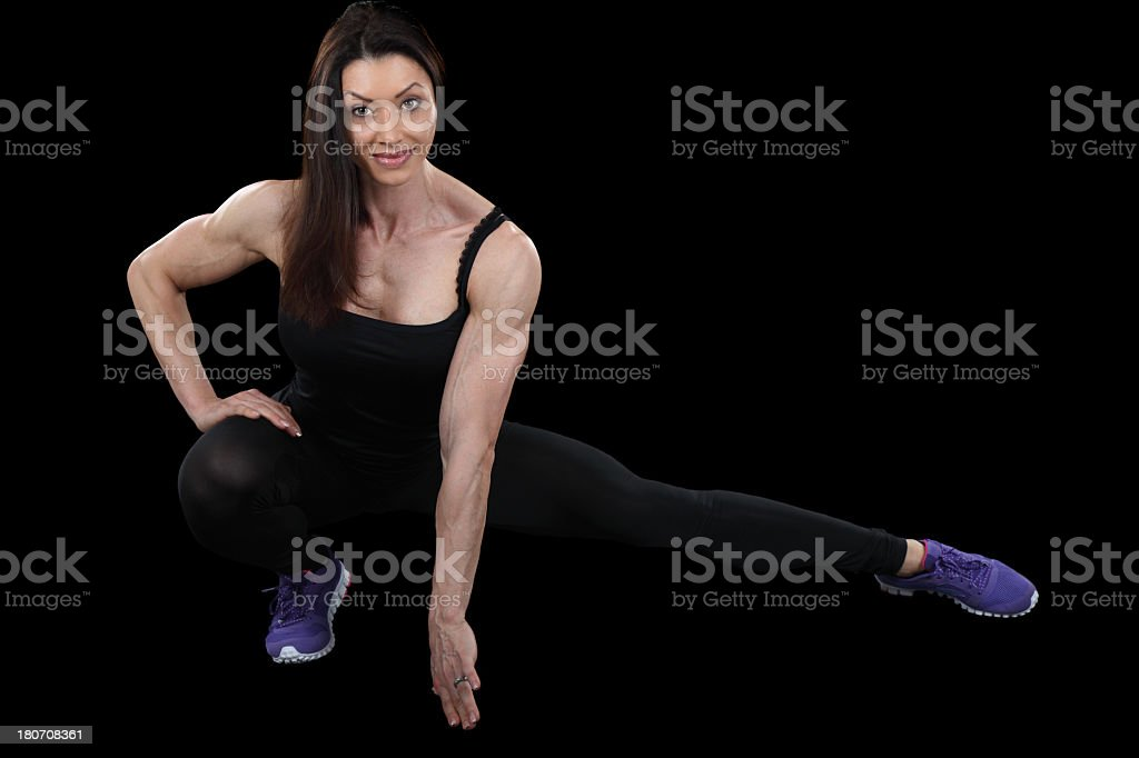 Perfect form royalty-free stock photo