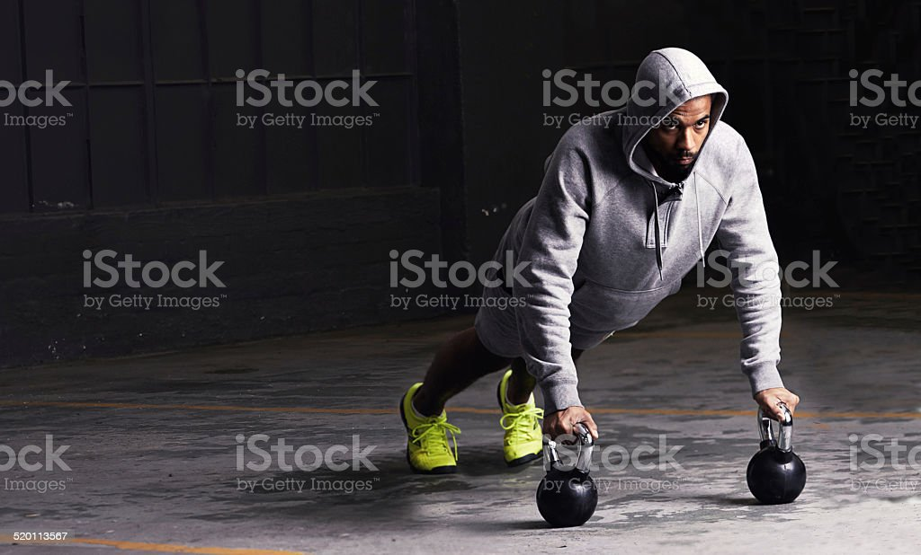 Perfect form stock photo