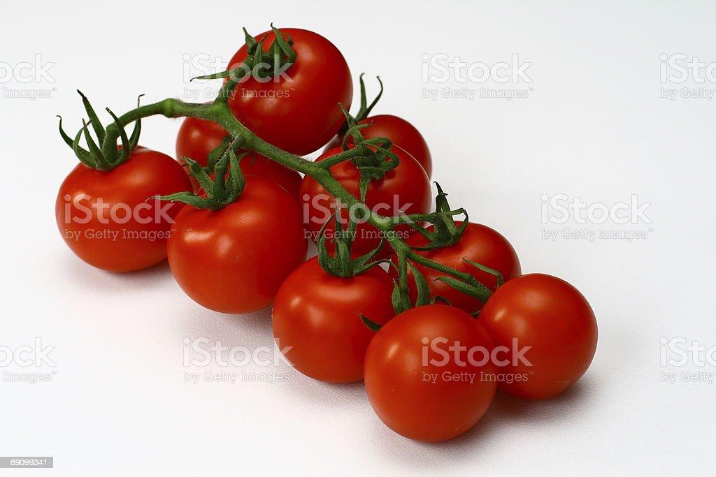 Perfect fresh tomatoes royalty-free stock photo