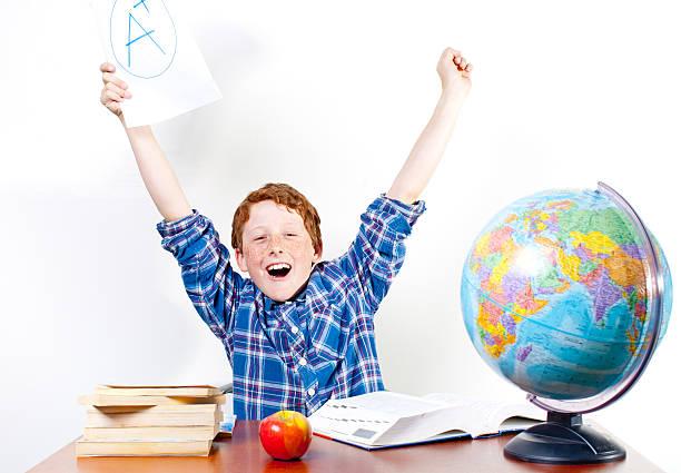 Perfekte grade Student! – Foto