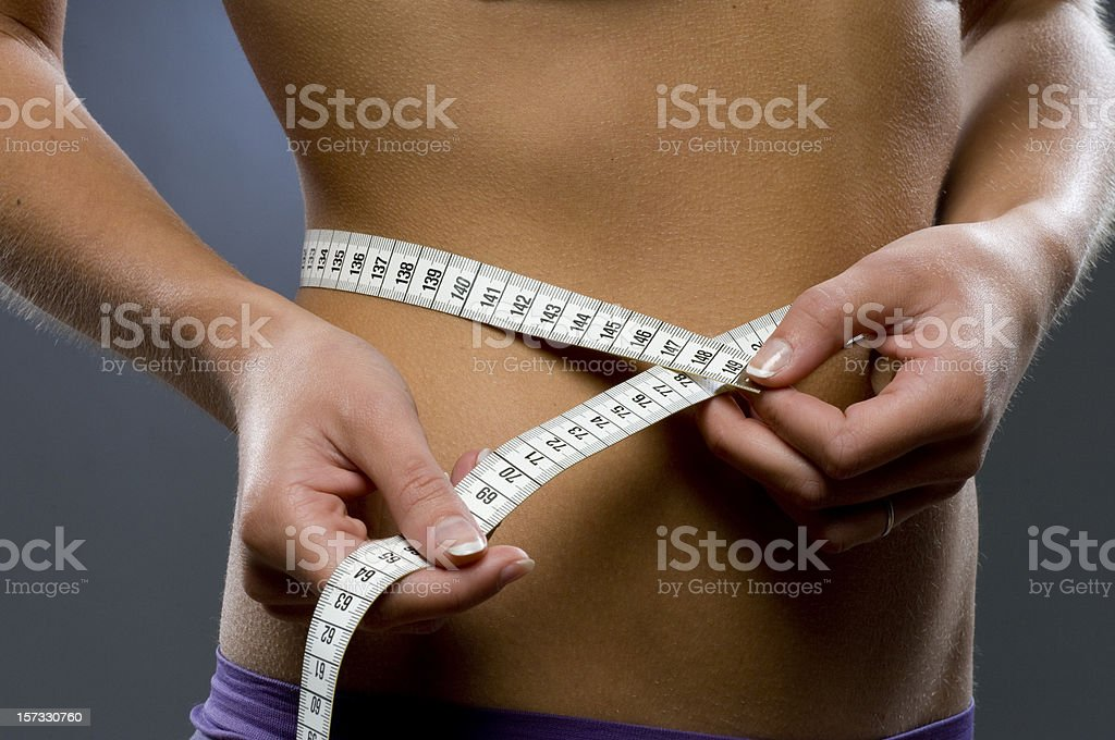 perfect hips stock photo