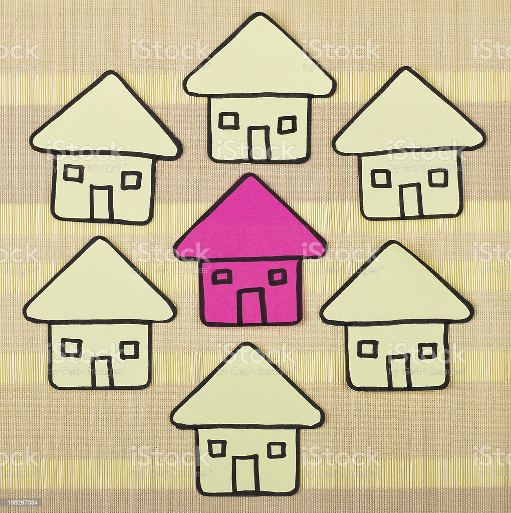 Perfect home concept royalty-free stock photo