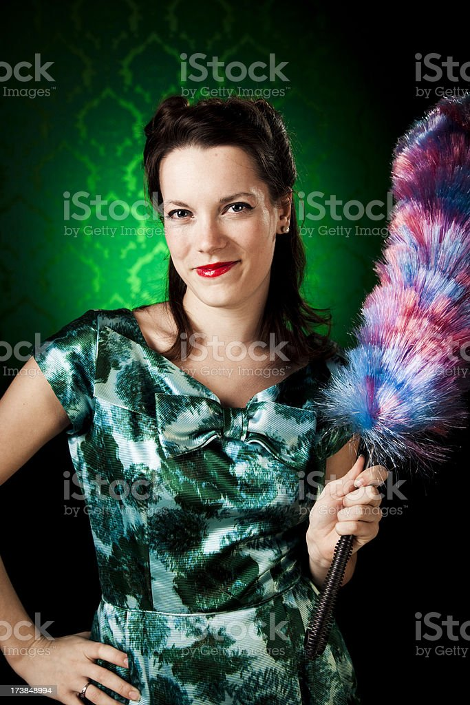 Perfect Housewife royalty-free stock photo
