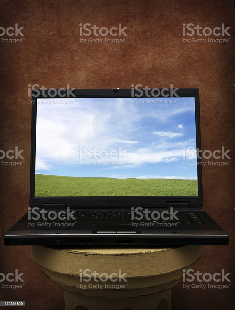 Perfect Laptop Day royalty-free stock photo