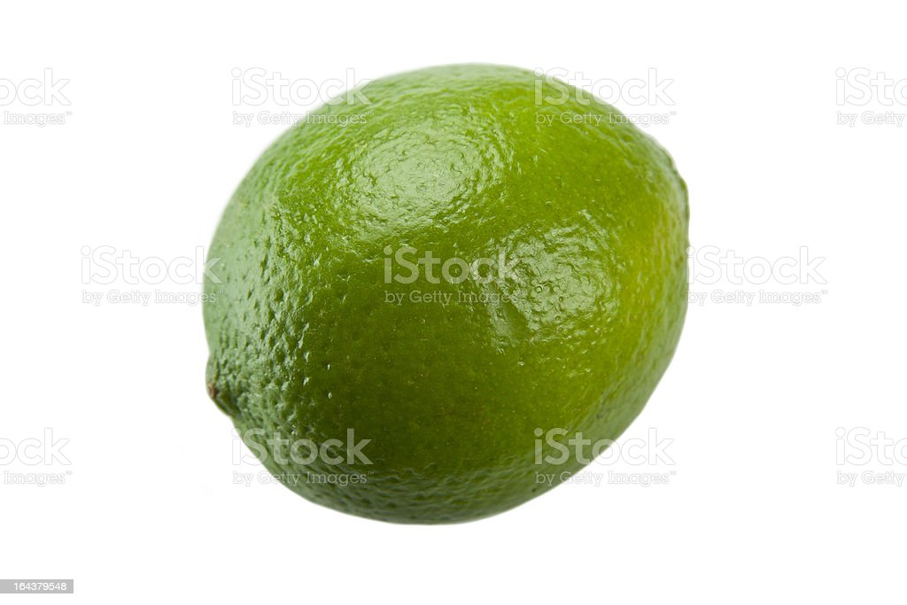 Perfect Lime royalty-free stock photo