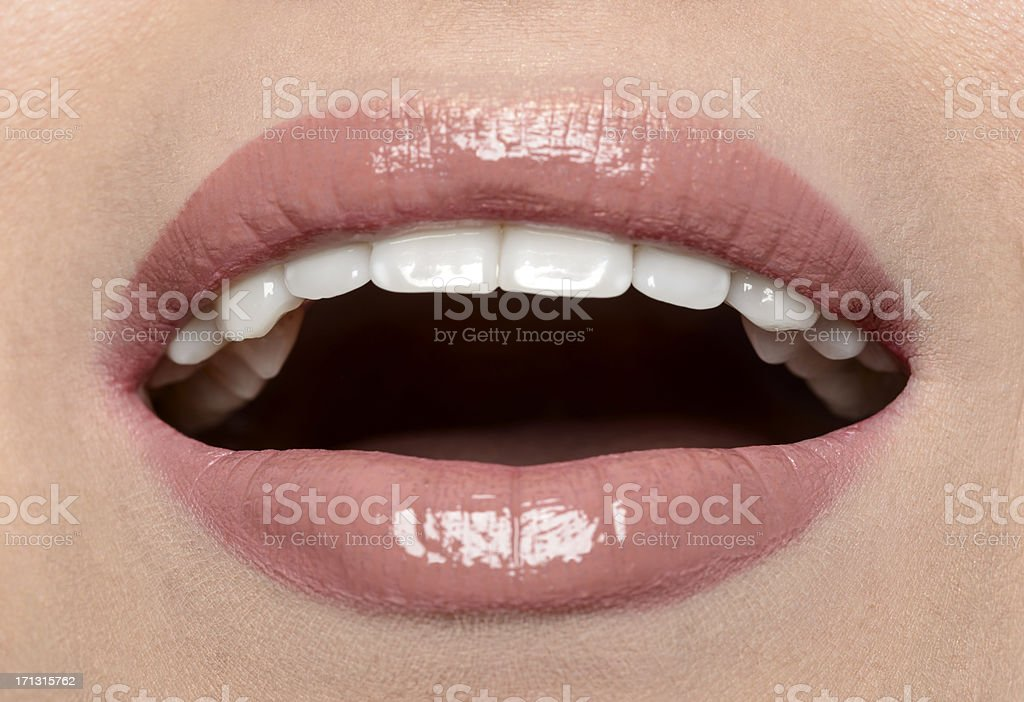 perfect lips royalty-free stock photo