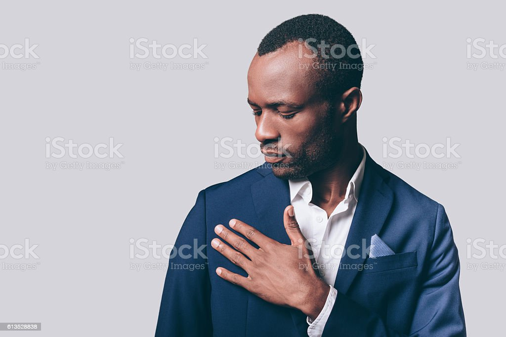 Perfect look. stock photo