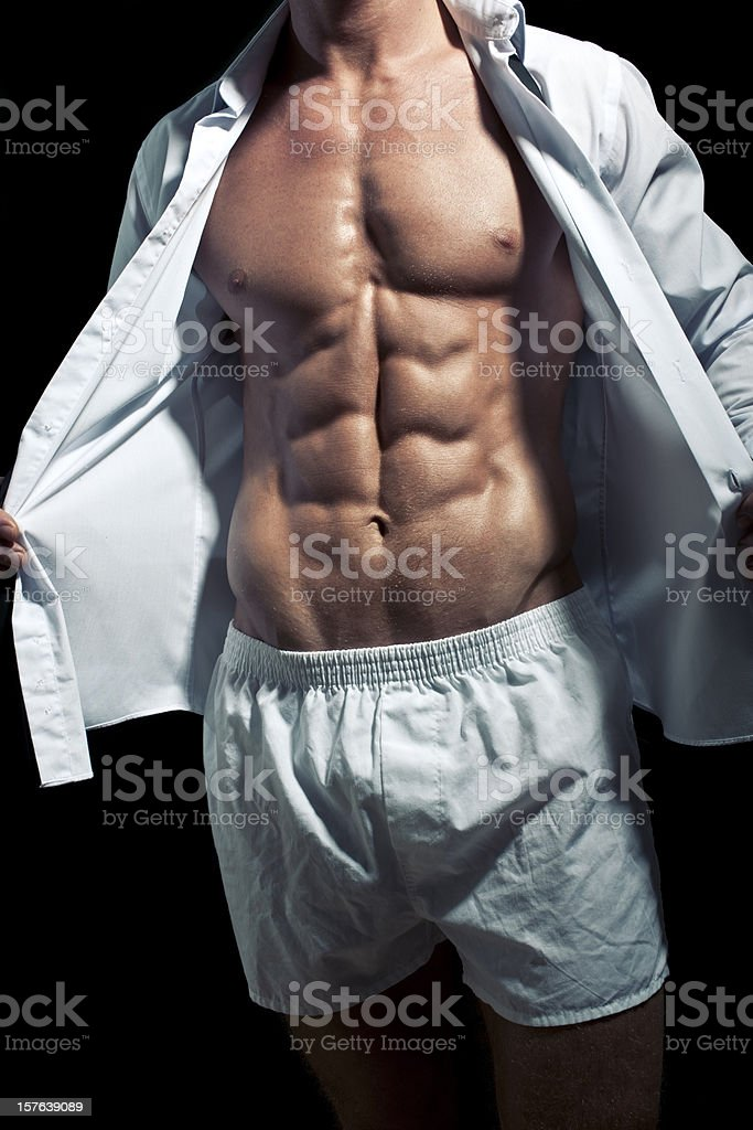 Perfect Male Torso stock photo