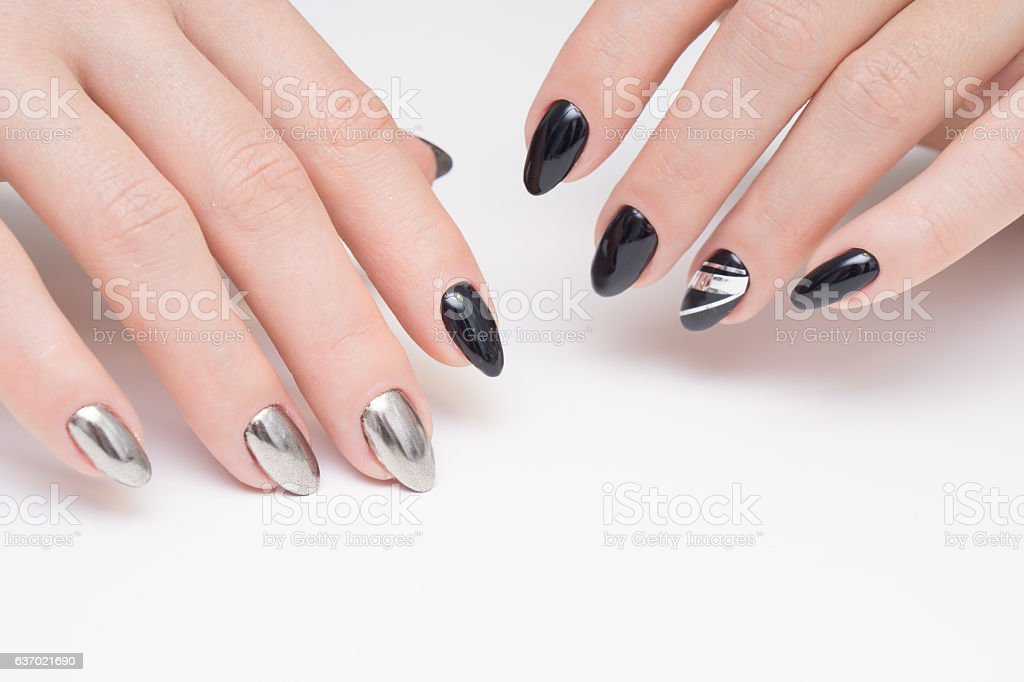 Perfect Manicure And Natural Nails Attractive Modern Nail Art Design ...