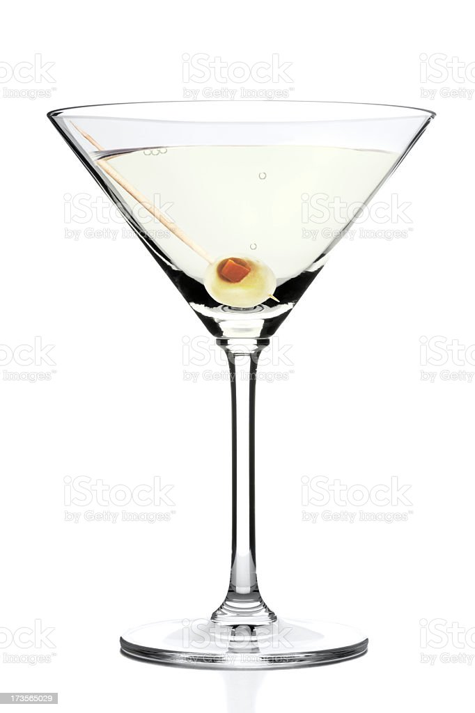 Perfect Martini royalty-free stock photo