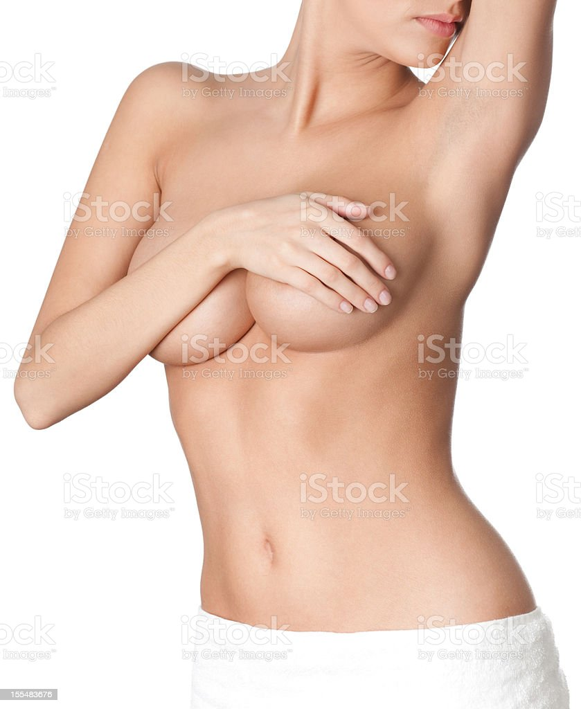 Perfect naked body stock photo