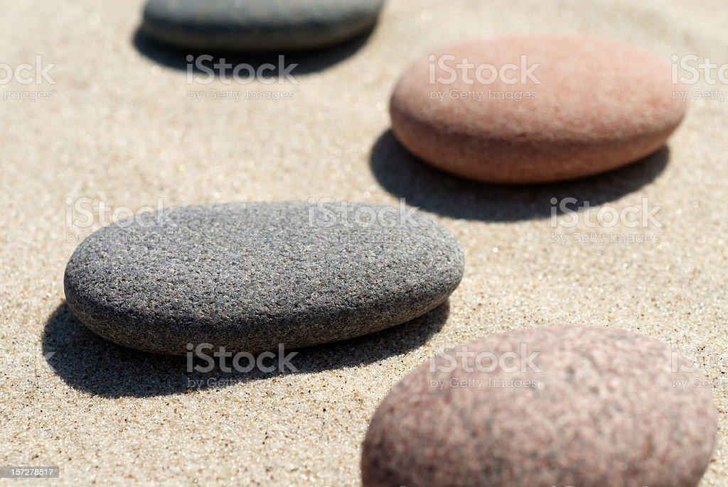 Perfect Pebbles royalty-free stock photo
