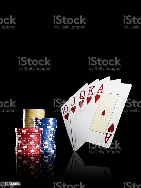 Perfect Poker Hand Stock Photo Download Image Now Istock