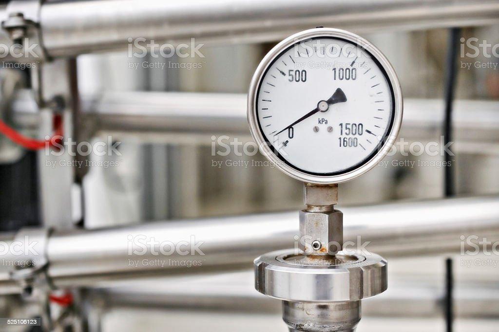 Perfect pressure stock photo