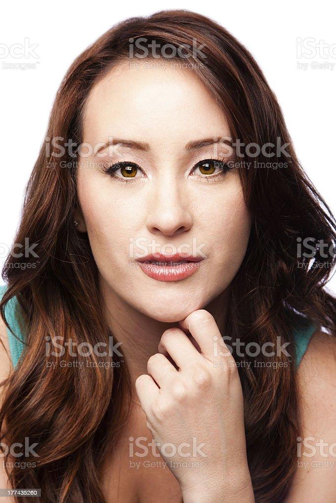Perfect skin stock photo