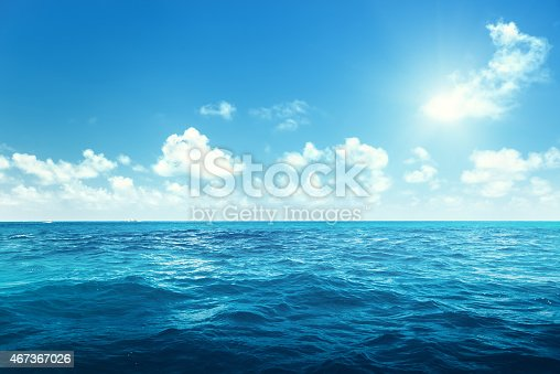 perfect sky and ocean
