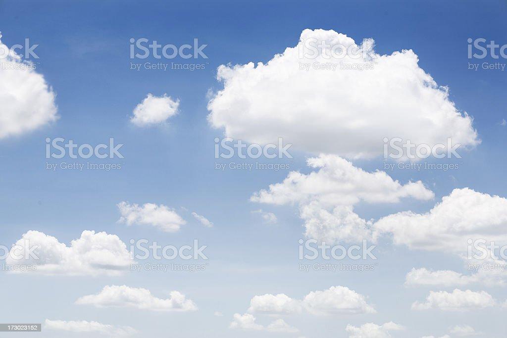 Perfect Sky royalty-free stock photo