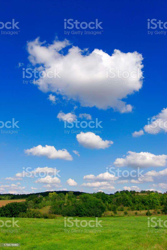 Perfect Sky royalty-free stock photo