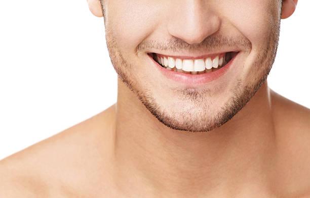 un sourire. - dents photos et images de collection