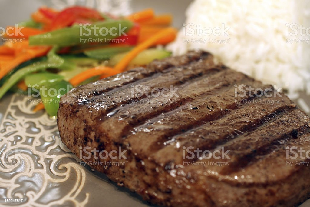 Perfect Steak royalty-free stock photo