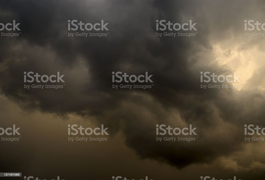 Perfect Storm royalty-free stock photo