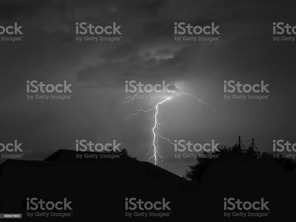 Perfect Strike stock photo