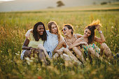 istock Perfect summer day with my girlfriends 1262879805