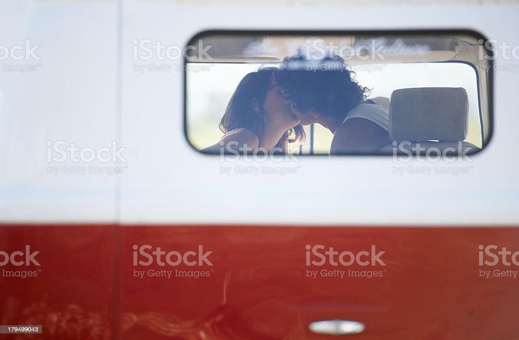 Perfect summer romance royalty-free stock photo